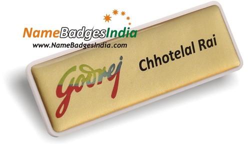 3D Name Badges Magnet