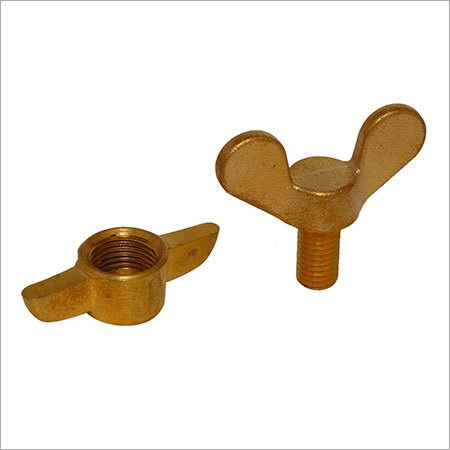 Brass Forged Wing Nuts