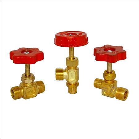 Brass S Type Wheel Valves