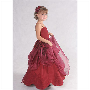Designer Flower Girl Gown
