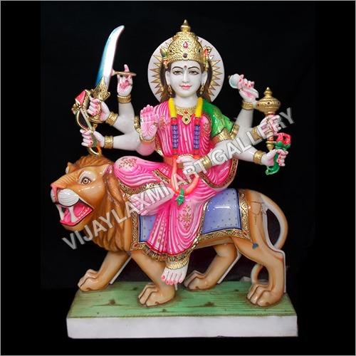 Marble God Durga Ma Statue