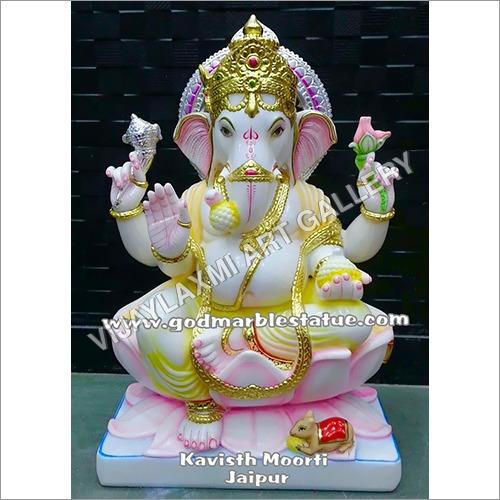 Marble God Ganesha Moorti