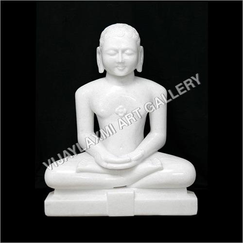 Marble Mahavira Statue