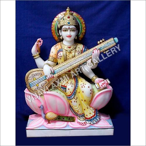 Marble Sarswati Idol