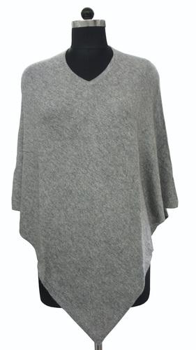 Grey Ladies Poncho