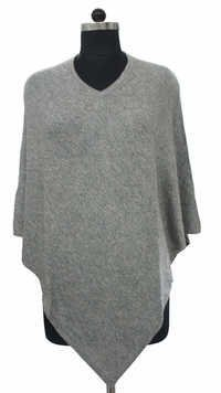 Grey Ladies Poncho