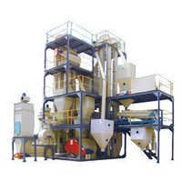 automatic cattle and poultry feed plant machinery