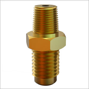 Brass Nipple With Tapper Threading