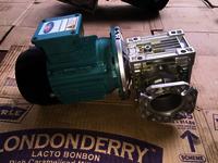 Flame Proof Geared Motor