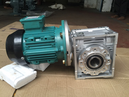 Geared Motor For Car Parking System With Brake
