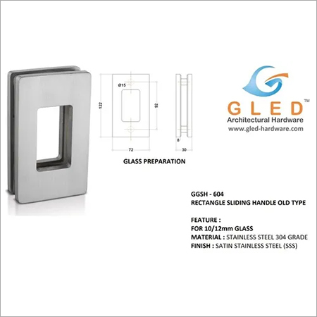 Glass Sliding Handle