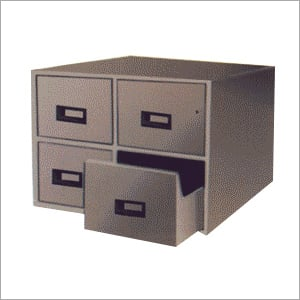 Card Index Cabinet with 4 drawers