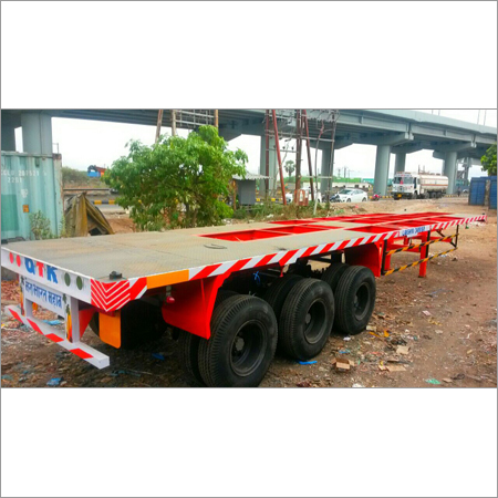 Heavy Duty Skeletal Trailer