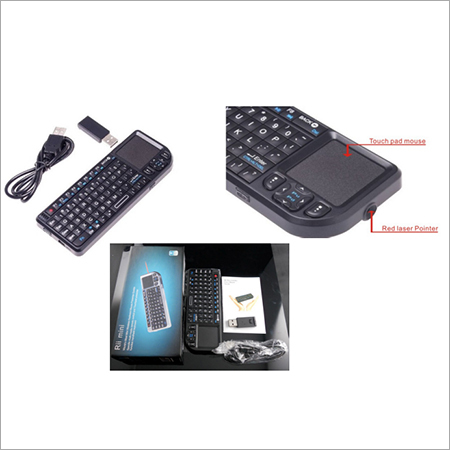 Ultra Mini Keyboard with touch pad Mouse & Laser Pointer
