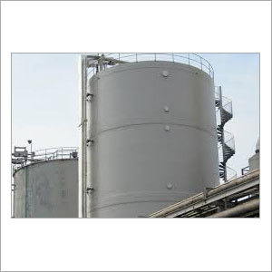 Industrial Chemical Storage Tank