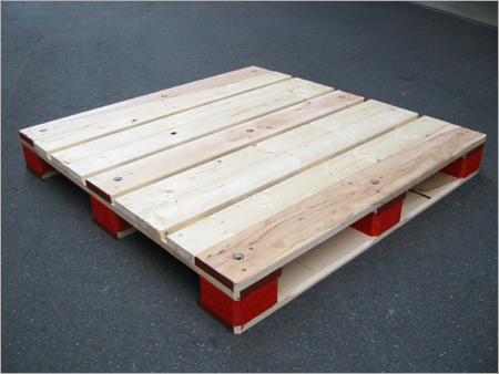 Wooden Warehouse Pallets