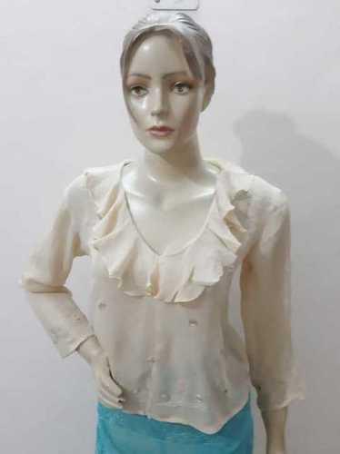 Georgette Hand Emb. Dress