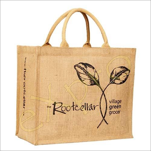 Fancy Jute Shopping Handbag
