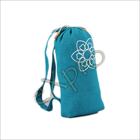 Jute Cotton Backpack
