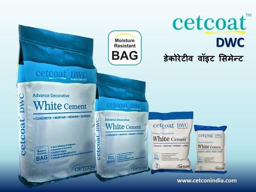 Decorative White Cement