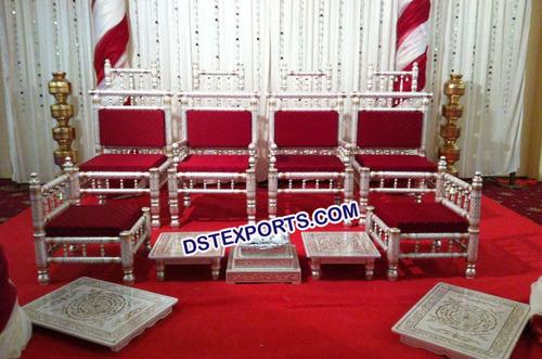 Traditional Indian Wedding Mandap Chairs