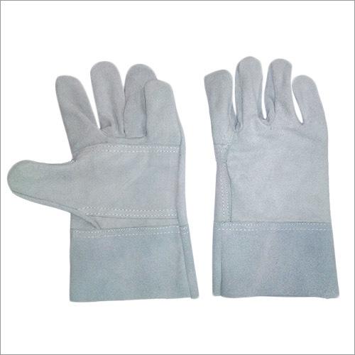 Double palm Split leather welding gloves