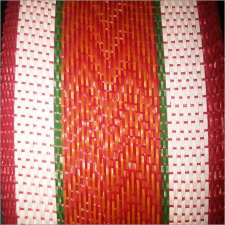 Striped Half Inch Plastic Niwar