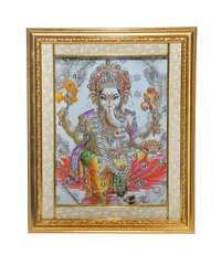 Ganesha Wooden Frame