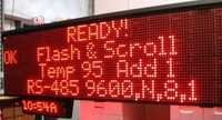 Scrolling LED Display Boards