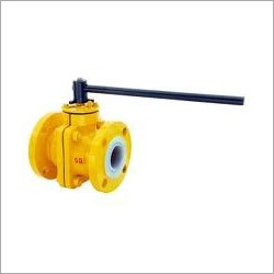 PTFE Lined Ball Valve Size 1-2