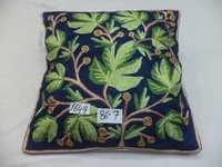 Silk Chain Stitch Cushion Covers