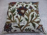 2ply Hand embroidered Cushion covers.