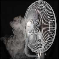 Pedestal Misting Fan