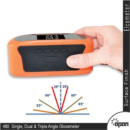 Elcometer 480 Single, Dual & Triple Angle Glossmeter