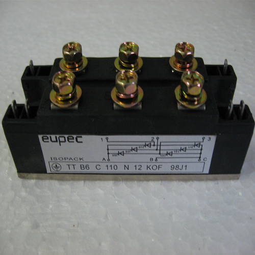 Eupec Thyristor module TTB6C110N12KOF