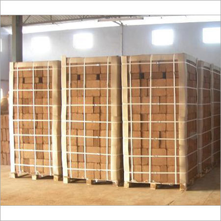 Cocopeat on Pallets