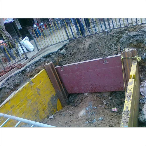 Corner Trench Shoring Equipment