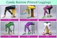 FANCY CANDY BOTTOM PRINT LEGGING
