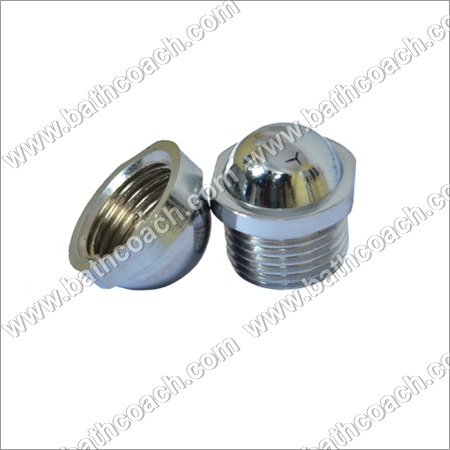 Brass CP Male Female Stop Plug