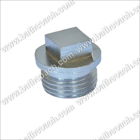 Brass Square Head Cored Plug