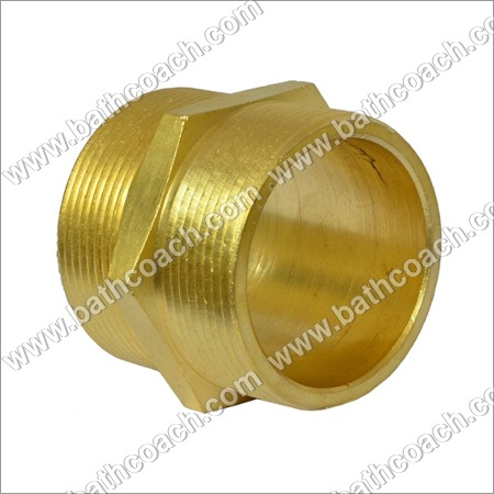 Brass Reducing Hex Nipple