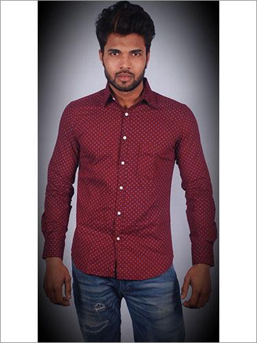 Casual Shirt Slim Fit 100 Cotton