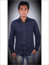 Casual Shirt Slim Fit 100 Cotton