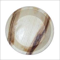 Round Areca Leaf Bowl