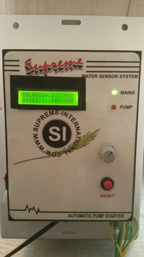 Automatic Pump Starter 3 Phase with timer
