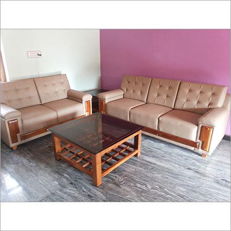 Upholstered Sofa Set