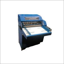 Half Sticker Cutting and Creasing Machine