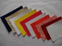 Fabric Laminated Paper For Invitation Card & Fancy