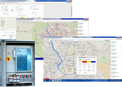 Central Control Monitoring System