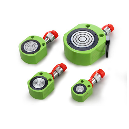 Low Flat Single Acting Hydraulic Cylinder